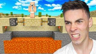 Najlepszy TROLL na GRACZU w Minecraft!