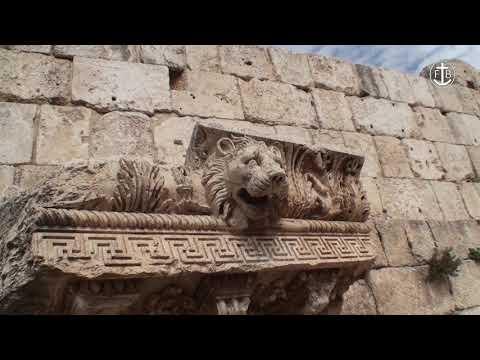 The Roman remains at Baalbeck, Lebanon