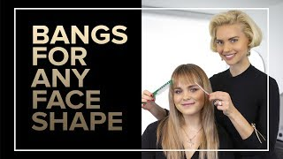 Bangs For Any Face Shape