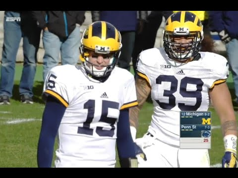 Michigan vs Penn State 2015 Full game Week 12 NCAA Football 11.21.2015