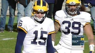 Michigan vs Penn State 2015 Full game Week 12 NCAA Football 11.21.2015