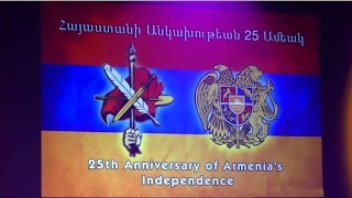 ARF Dro Gomideh Celebrates 25th Anniversary  of Armenia's Independence with a concert