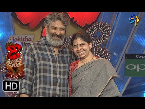 S. S. Rajamouli,Rama Intro | Dhee Jodi | 21st June 2017 | ETV Telugu