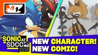 Whisper the Wolf Revealed! New Team Sonic Racing Comic Announced! - Sonic SDCC 2018 Panel Recap thumbnail