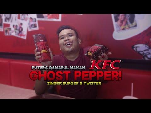 Putera Qamarul Makan:KFC Ghost Pepper-Zinger Burger & Twister!