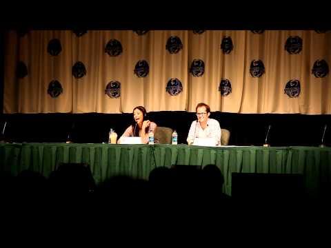 Erica Cerra and Neil Grayston: Walking around DragonCon Eureka