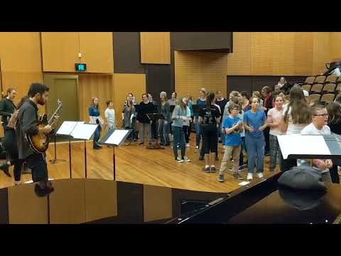 Geelong Youth Choir - Rehearsing for World Music Concert