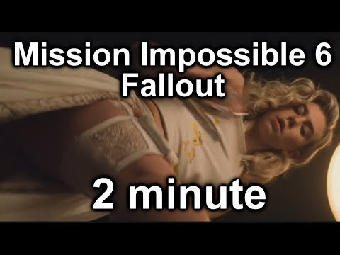 Mission Impossible 6 Fallout in 2 Minutes 2分钟看完 白人欺负华人的Hollywood电影 thumbnail