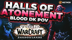 NEW Shadowlands Dungeon: Halls of Atonement | Blood DK POV | Method Sco