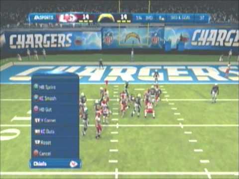 BTW league season game Kansas City Chiefs (yngclassic) vs San Diego Chargers (infamousone32)