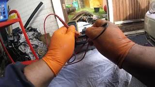 Как снять и проверить соленоид АКПП CHRYSLER \ How to check the automatic transmission solenoid