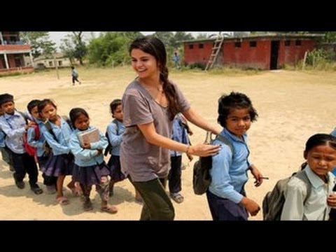 A Sneak Peek At Selena Gomez's Nepal Trip