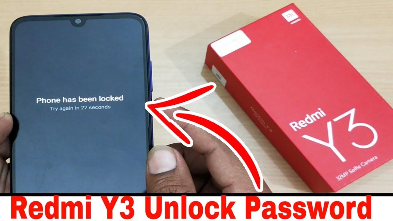 How to Unlock Password Redmi Y3   Unlock Pattern Redmi Y3   Hardreset Redmi  Y3   Remove Pinlock MiY3 by HU Technology