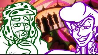 """Walk like an Egyptian"" Cover By: Riverdude (feat. Josuke, Joseph, & Jotaro)"