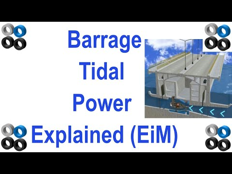 How Barrage Tidal Power Generation Works (explained in about two minutes).