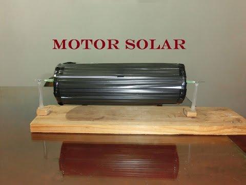 Motor solar, como hacerlo paso a paso.