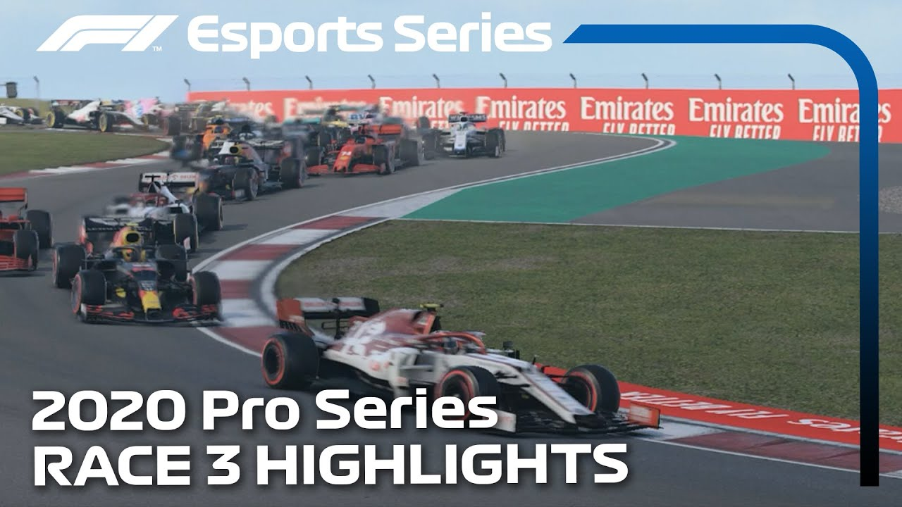 2020 F1 Esports Pro Series Presented by Aramco: Race 3 Highlights