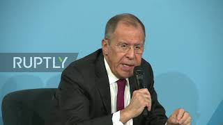 France: Lavrov jokes that Russia 'will resolve' 2020 US elections