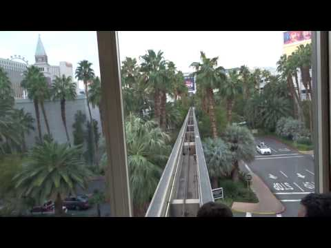 Daytime Take: Tram from Treasure Island to The Mirage Las Vegas, NV