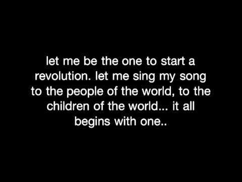 The power of one by Isreal Houghton lyrics