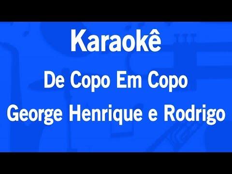 Karaokê De Copo Em Copo - George Henrique e Rodrigo