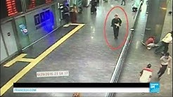 Istanbul Ataturk airport attack: footage of attackers in airport