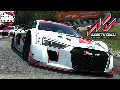 ASSETTO CORSA - Audi R8 LMS 2016 @ Nordschleife (24h) - Ready To Race - Let