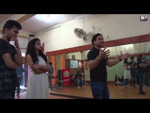 Acting Workshop for Soch Theater Group part - 1 | Moving Frame Productions