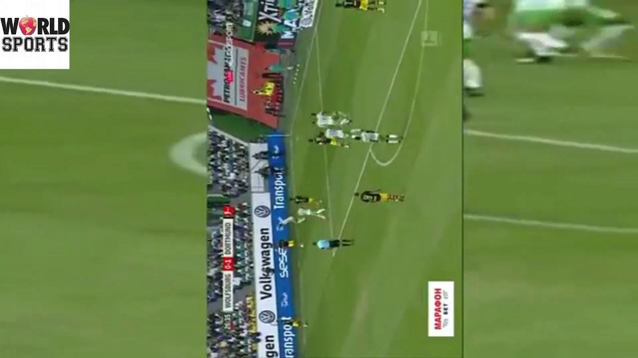 Download Borussia Dortmund vs Wolfsburg 3 0 All Goals / HD