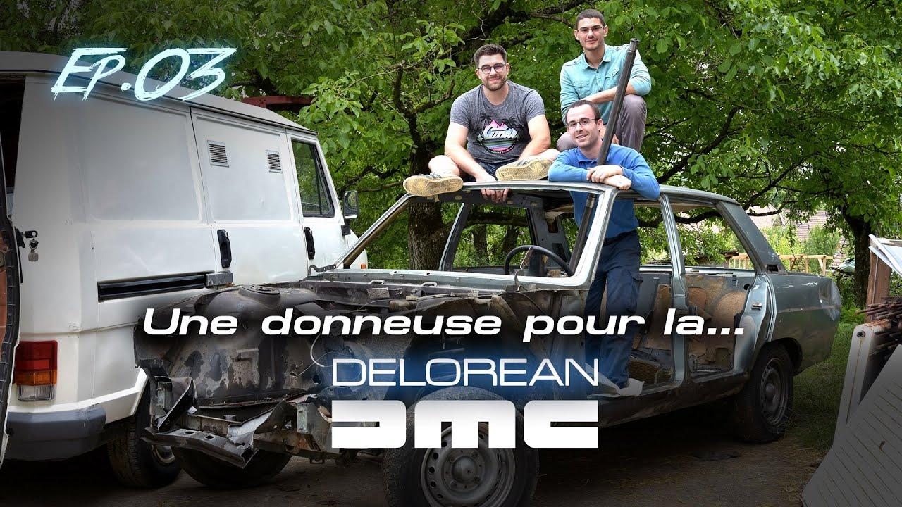 Delorean DMC-12 - Restauration Ep03