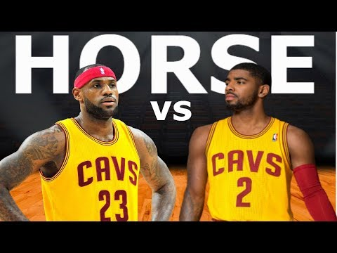 Lebron James and Kyrie Irving Play Horse In Real Life