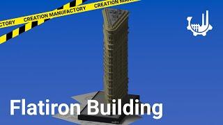 Flatiron Building New York | Real Architecture [Minecraft] [Free Download]