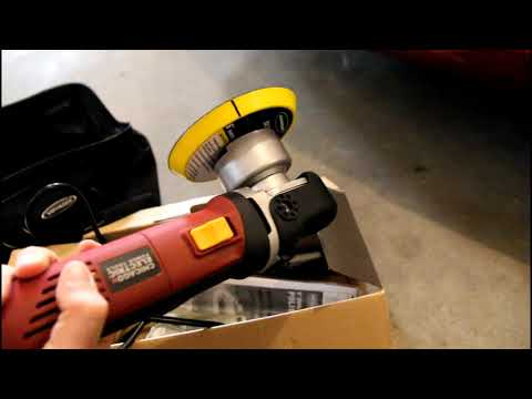 Harbor Freight/Chicago Electric Dual Action Polisher - Unboxing and Initial Thoughts - Part 1