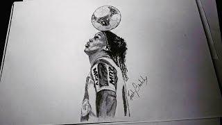 Drawing Ronaldinho Gaucho
