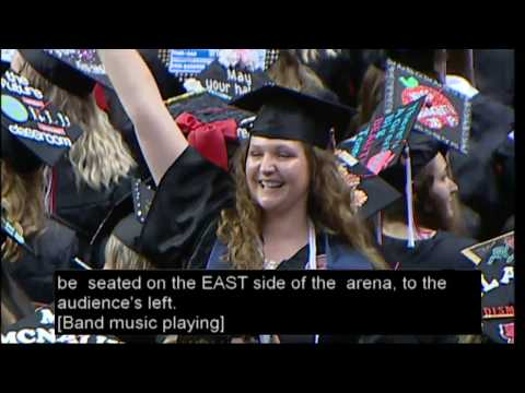 Illinois State University Spring Commencement - College of Education and University Studies