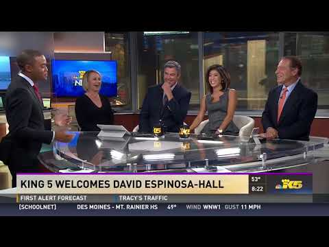 David Espinosa-Hall of KING-TV: NBC in Seattle, WA: KING 5