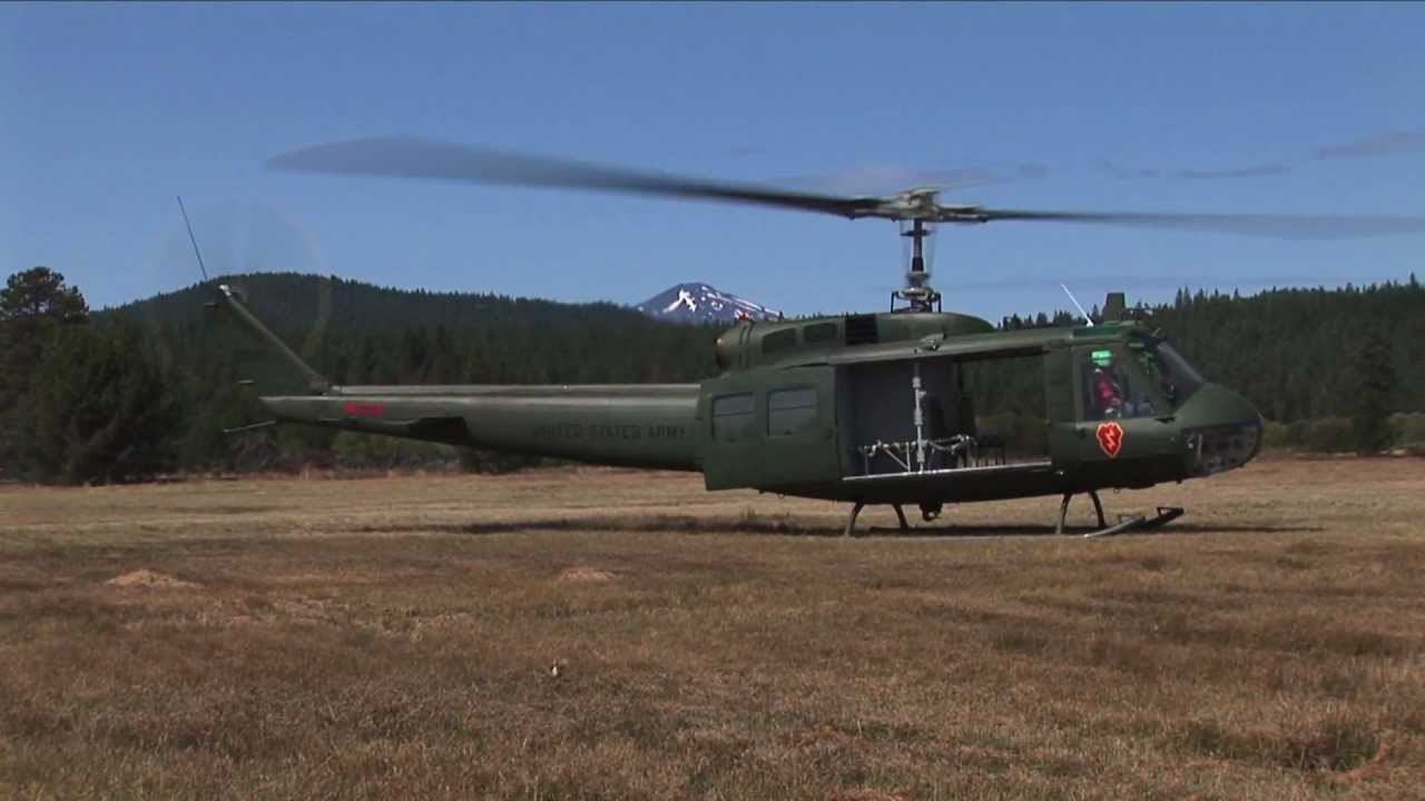 """Vietnam Helicopters Museum – UH-1H Iroquois """"Huey"""" Helicopter"""