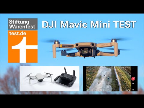 Test DJI Mavic Mini: Kleine Drohne mit guter Kamera (Drohnen-Test Stiftung Warentest)