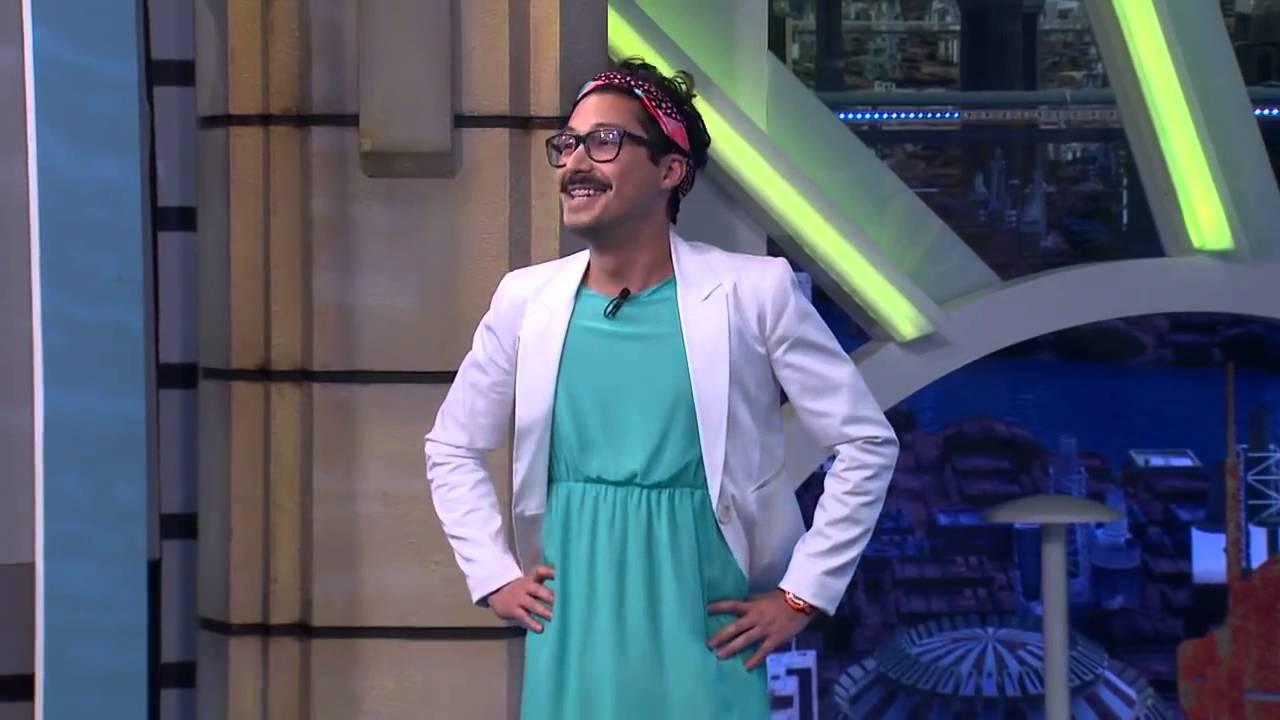 Como se ve un hombre vestido de mujer