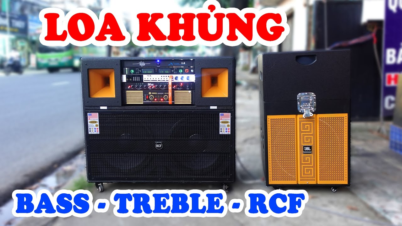 RCF 1008 - Loa kẹo kéo điện công suất lớn cao cấp mới nhất | Dàn karaoke di  động 19 triệu hay nhất - YouTube