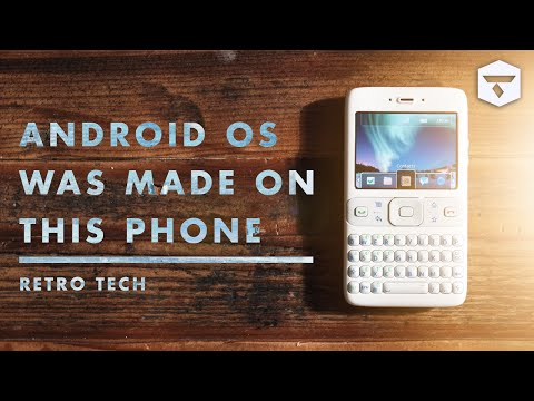 Google Sooner: The Smartphone that Led to the Creation of Android OS   Retro Tech History & Reviews