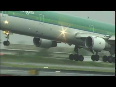 Bouncy AER LINGUS MD11 at JFK