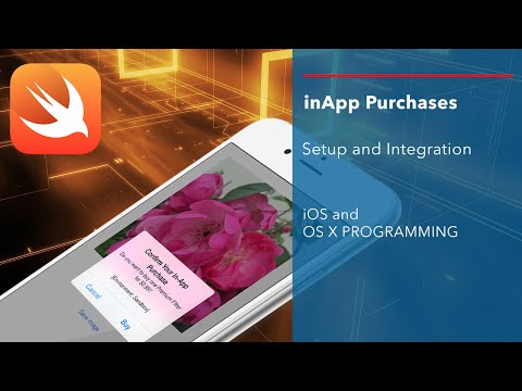 iOS Swift Tutorial: inApp Purchases - Setup and Integration