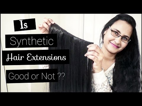 Is Synthetic Hair Extensions Good?? - Cheap & Affordable