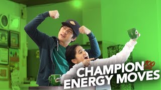 CHAMPION ENERGY MOVES | Ranz and Niana