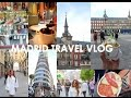 Madrid Travel Vlog (Exploring Hapsburg Madrid, Food, Fashion & Fun)| Spain Vacay