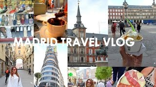 Madrid Travel Vlog (Exploring Hapsburg Madrid, Food, Fashion & Fun)  Spain Vacay