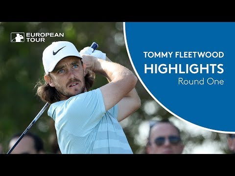 Tommy Fleetwood Highlights | Round 1 | 2018 Abu Dhabi HSBC Golf Championship
