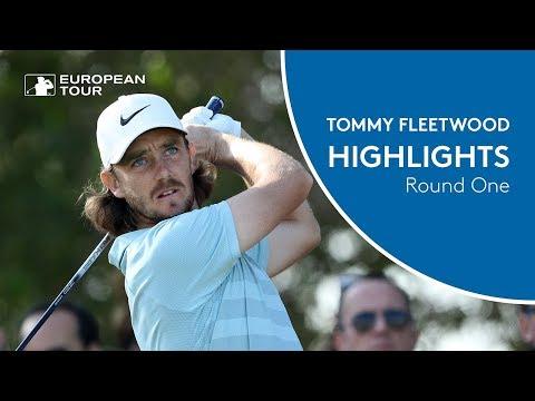 Tommy Fleetwood Highlights | Round 1 | 2018 Abu Dhabi HSBC Golf Championship
