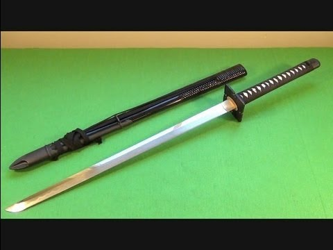 Paul Chen Hanwei Forge Iga Ninja-To Straight Sword